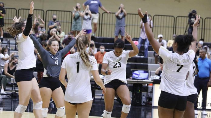 Army West Point volleyball came out on top at the 2021 Army Invitational after sweeping Merrimack and Iona on the final day of the tournament.