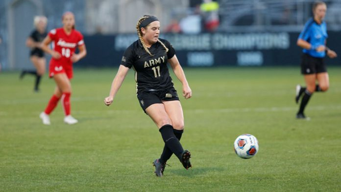 The Army West Point women's soccer team earned a hard-fought point on the road after battling Lehigh to a 3-3 result on Saturday evening.