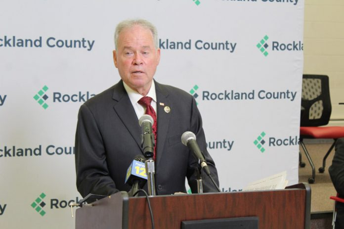 County Executive Ed Day highlighted the incredible work of Rockland County Government employees during the pandemic and the continued growth and strengthening of Rockland's economy despite these challenging times.