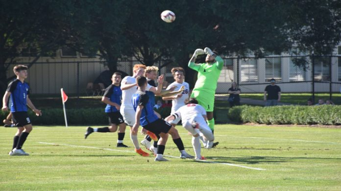 The Mount Saint Mary College Men's Soccer Team closed out play in the 2021 Blue Devil Classic on Saturday afternoon with 2-0 loss to Buffalo State.