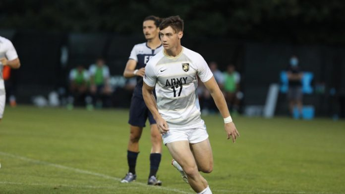 The Army West Point men's soccer team was able to create some late game magic once again as John Poncy netted an equalizer in the 84th minute of play.