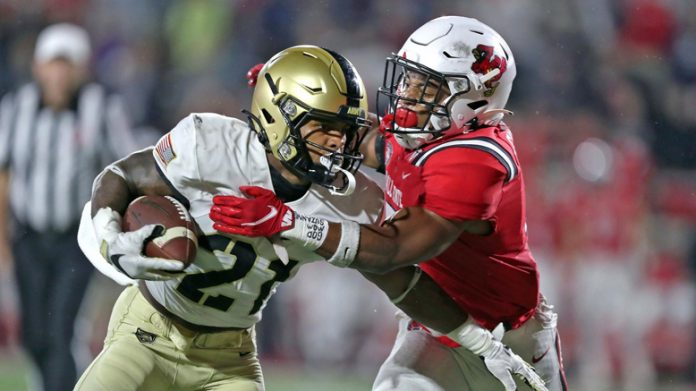 The Army West Point football team suffered its first loss of the 2021 season on Saturday at Scheumann Stadium, falling 28-16 at the hands of Ball State.
